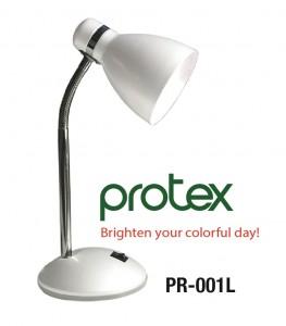 Đèn bàn Protex Model PR-001L mầu trắng